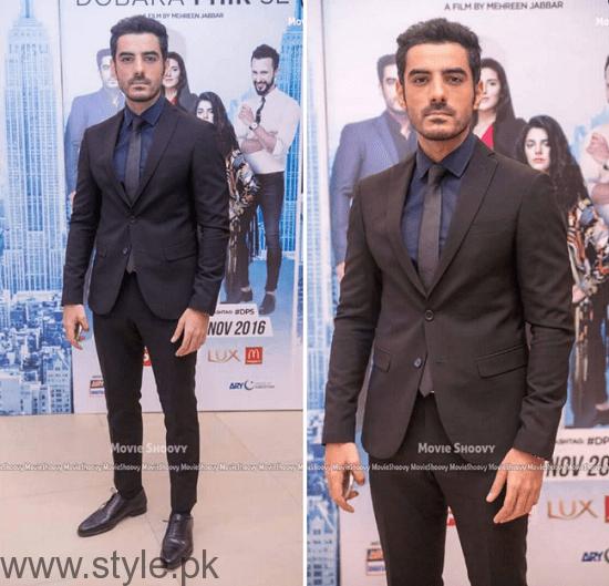 Adeel Hussain At Dobara Phir Se Karachi Premiere