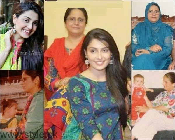 Ayeza Khan With Her Mother