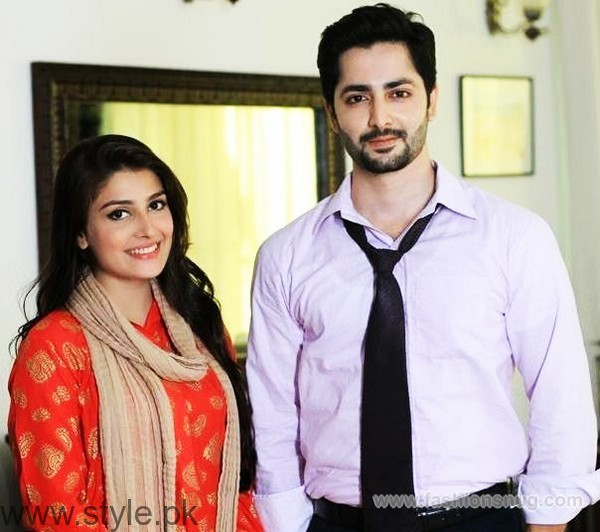 Ayeza Khan and Danish Taimoor Age Difference