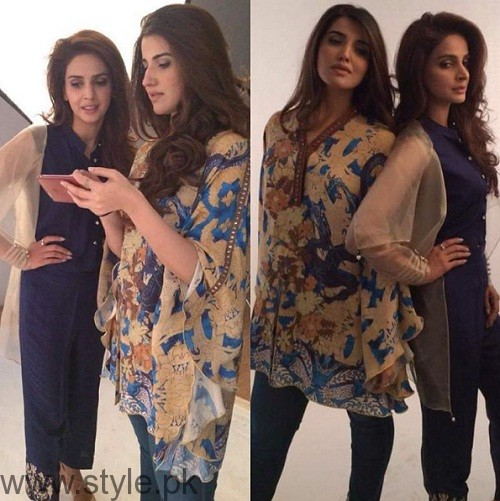 Hareem Farooq and Saba Qamar Photoshoot