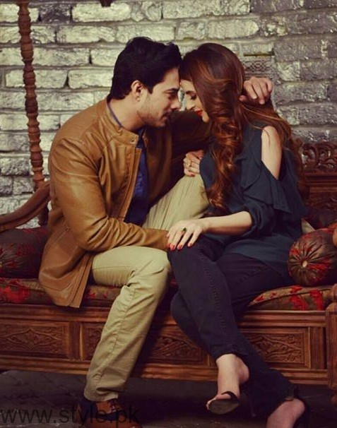 See Hot Photoshoot of Fatima Effendi and Kanwar Arsalan