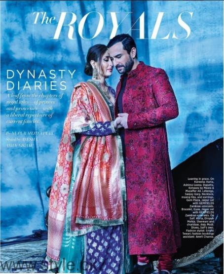 See Kareena Kapoor and Saif Ali Khan's recent photoshoot