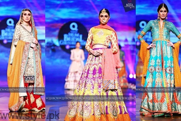 See Mehndi Dresses at Bridal Couture Week
