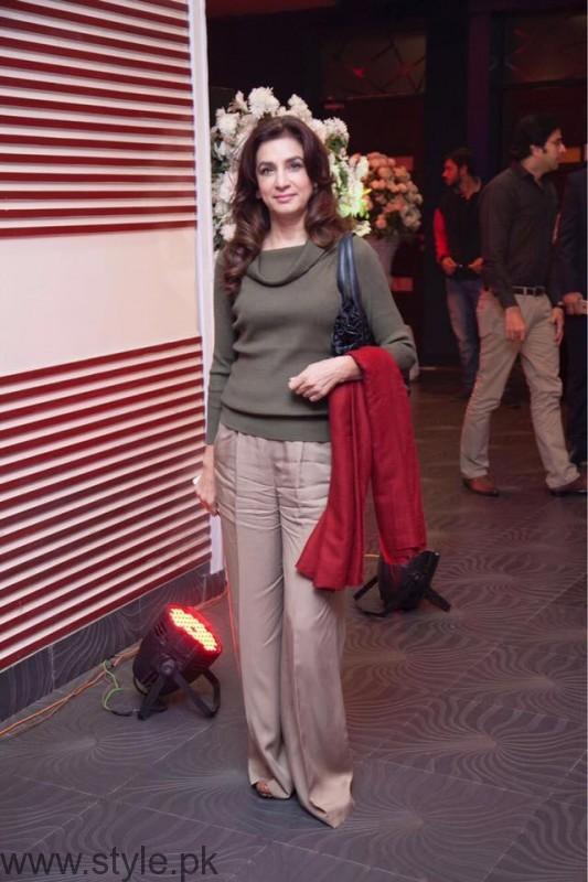 Nina J Khan at Lahore Se Aagey premiere