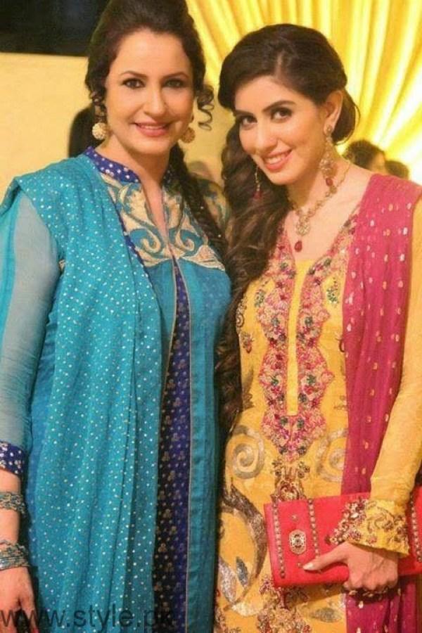 Saba Faisal and Sadia Faisal