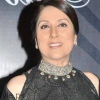 Pakistani film actress Samina Peerzada