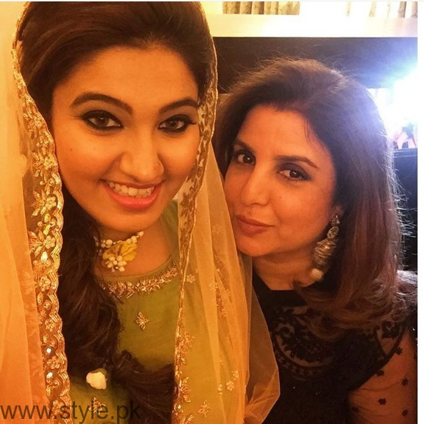Sania Mirza's sister Anam Mirza's Sangeet Pictures (6)
