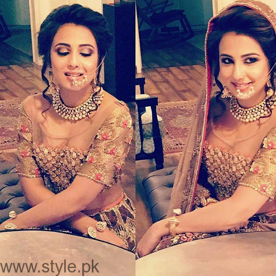 Ushna Shah Bridal Photoshoot 2016