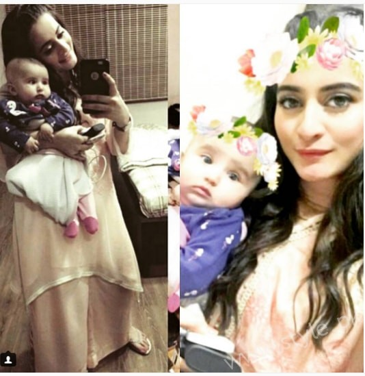 Aiman Khan and Muneeb Butt's First Dholki Pictures (5)
