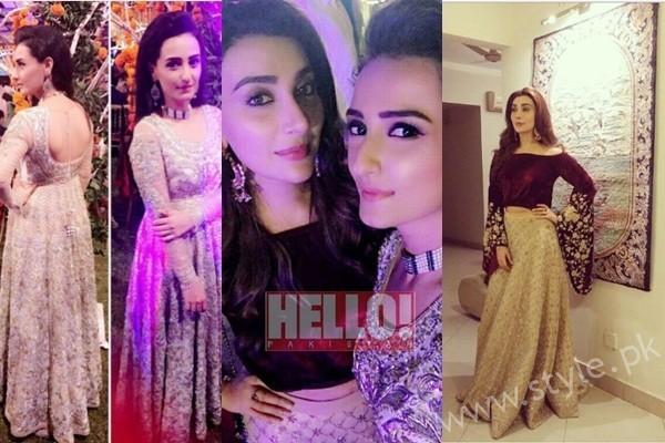 See Ayesha Khan and Momal Sheikh at a Friend's Wedding