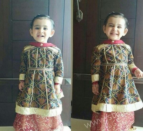 Ayeza Khan Danish Taimoor Daughter Hoorain