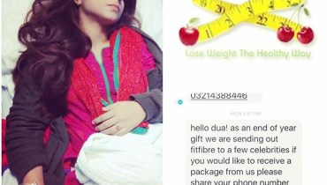 Dua Malik used Weight Loss Product and hospitalized