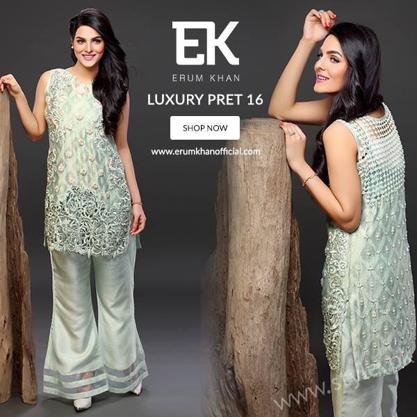 Erum Khan Pret Dresses 2016 - 2017 For Women002