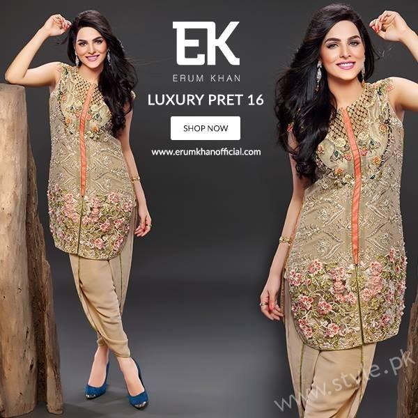 Erum Khan Pret Dresses 2016 - 2017 For Women003