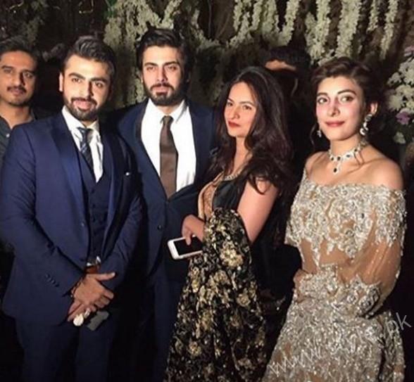 Fawad Khan at Urwa Hocane and Farhan Saeed's Wedding (2)