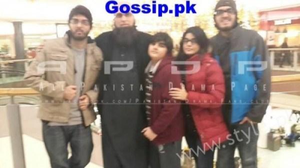 Junaid Jamshed Family