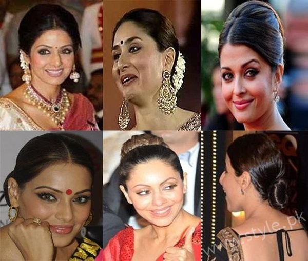 List Of Indian Actresses Who Rocked The Bun