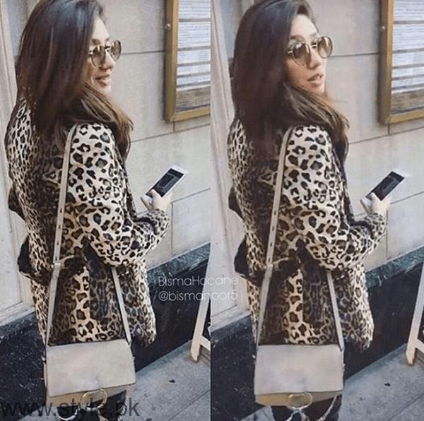 Mahira Khan in New York