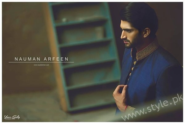 Nauman Arfeen Sherwani Collection 2016-2017 For Men 004