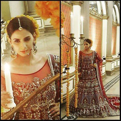 Saba Qamar Erum Khan Bridal Couture Campaign 2016-17 (3)