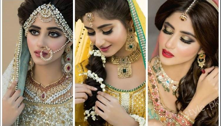 Sajali Ali Bridal Beauty Shoot Nadia Hussain Salon Featured