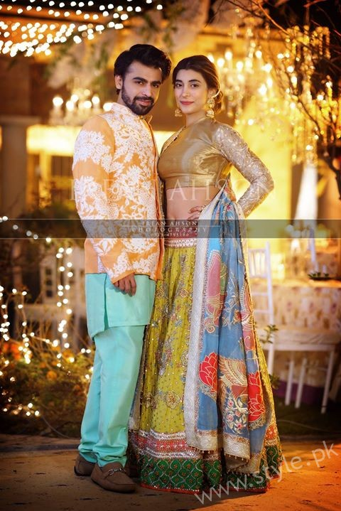 Urwa and Farhan at Qawaali Night