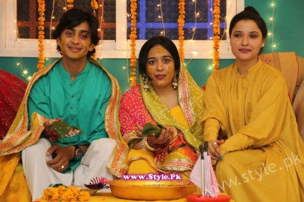 Baji Irshad's Mehndi Pictures