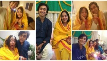 Yasra Rizvi Engagement Pics