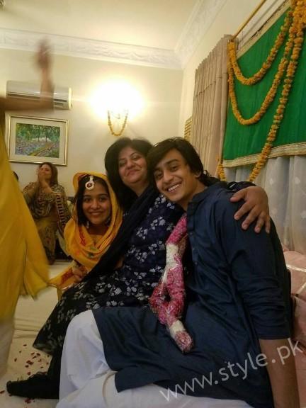 Yasra Rizvi and Abdul Hadi Mayoun Pictures