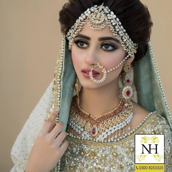 bridal photoshoot Sajal Ali