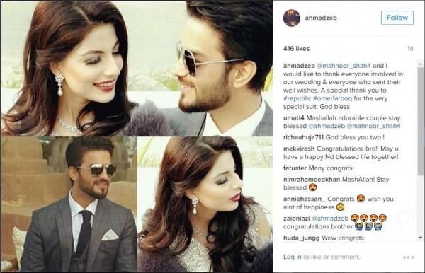 Ahmad Zeb Wedding Pics