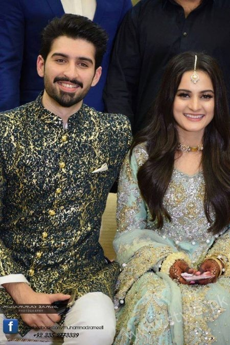 Aiman Khan Muneeb Butt Photoshoot on Engagement (14)