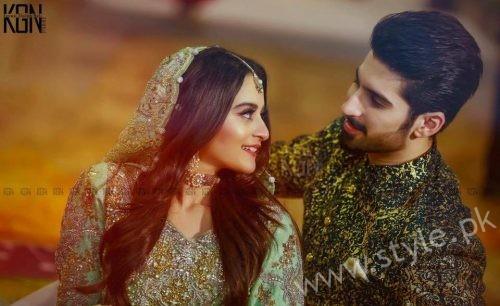 Aiman Khan Muneeb Butt Photoshoot on Engagement (15)