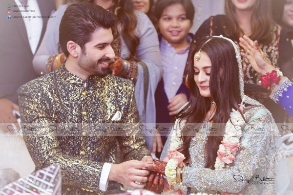 Aiman Khan Muneeb Butt Photoshoot on Engagement (6)