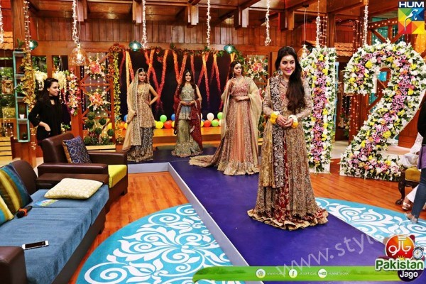 Bridal Fashion Trends in Pakistan dispalyed at Jago Pakistan Jago (3)