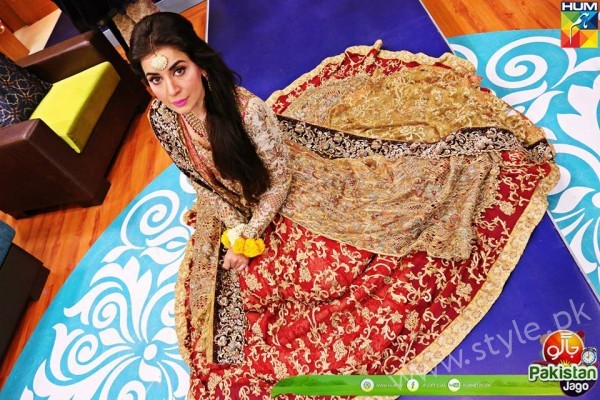 Bridal Fashion Trends in Pakistan dispalyed at Jago Pakistan Jago (6)