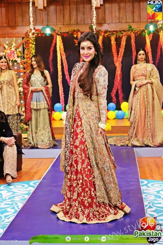 Bridal Fashion Trends in Pakistan dispalyed at Jago Pakistan Jago (9)