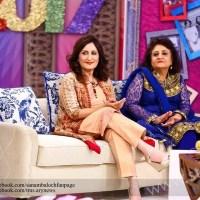 Bushra sisters in Sanam show