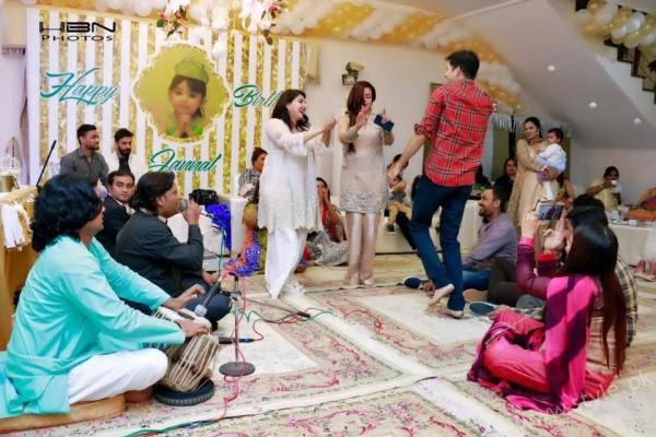 Celebrities at Javeria Saud's daughter Jannat Saud's Birthday Party (16)