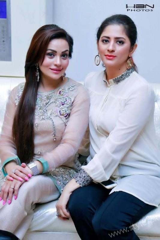 Celebrities at Javeria Saud's daughter Jannat Saud's Birthday Party (27)
