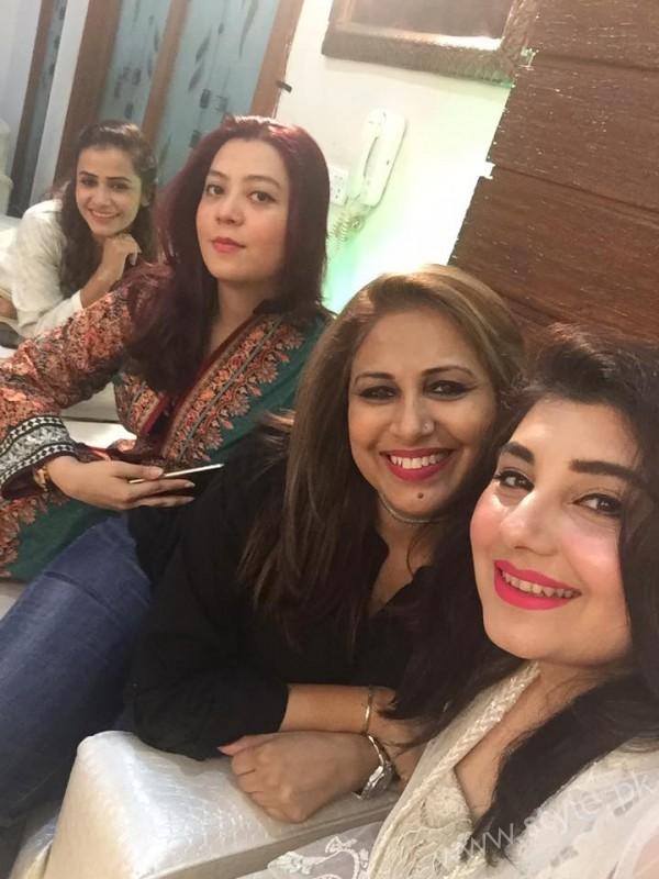 Celebrities at Javeria Saud's daughter Jannat Saud's Birthday Party (3)