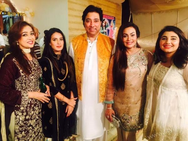 Celebrities at Javeria Saud's daughter Jannat Saud's Birthday Party (6)