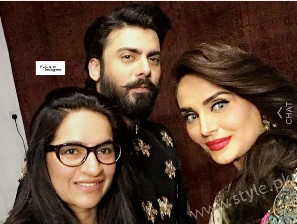 Fawad Khan and Mehreen Syed's Photoshoot for Silk (5)