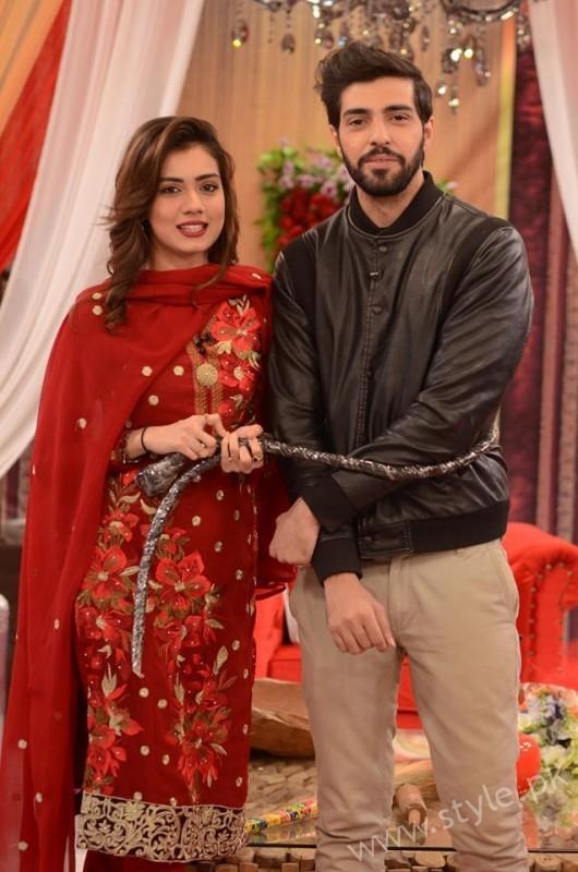 Furqan Qureshi and Sabrina Naqvi in Good Morning Pakistan (15)