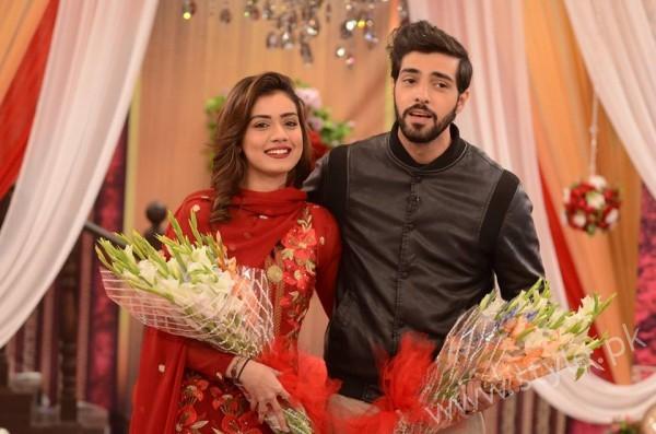 Furqan Qureshi and Sabrina Naqvi in Good Morning Pakistan (16)