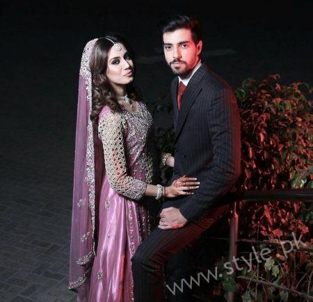 Furqan Qureshi and Sabrina Naqvi's Reception and Wedding Pictures (2)