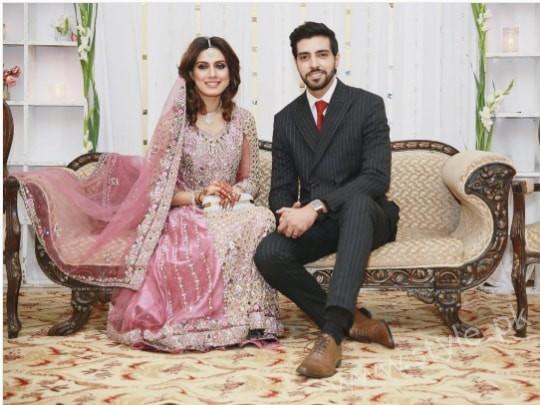 Furqan Qureshi and Sabrina Naqvi's Reception and Wedding Pictures (3)