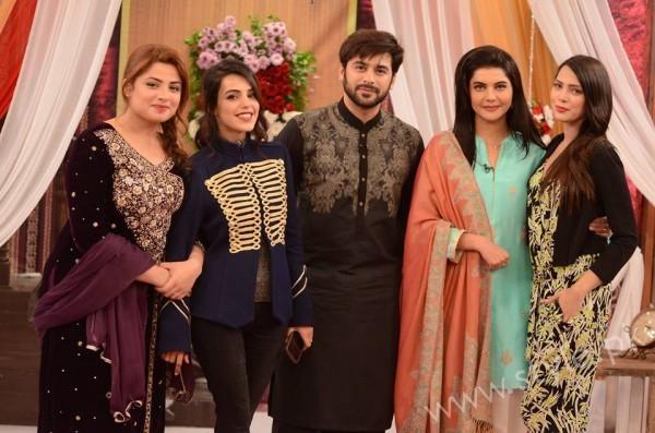 Kon Bane Gi Humayun Asraf Ki Dulhan Special Show in Good Morning Pakistan (10)