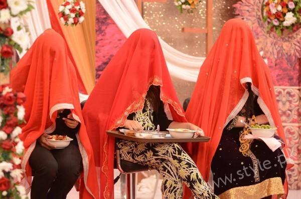 Kon Bane Gi Humayun Asraf Ki Dulhan Special Show in Good Morning Pakistan (18)