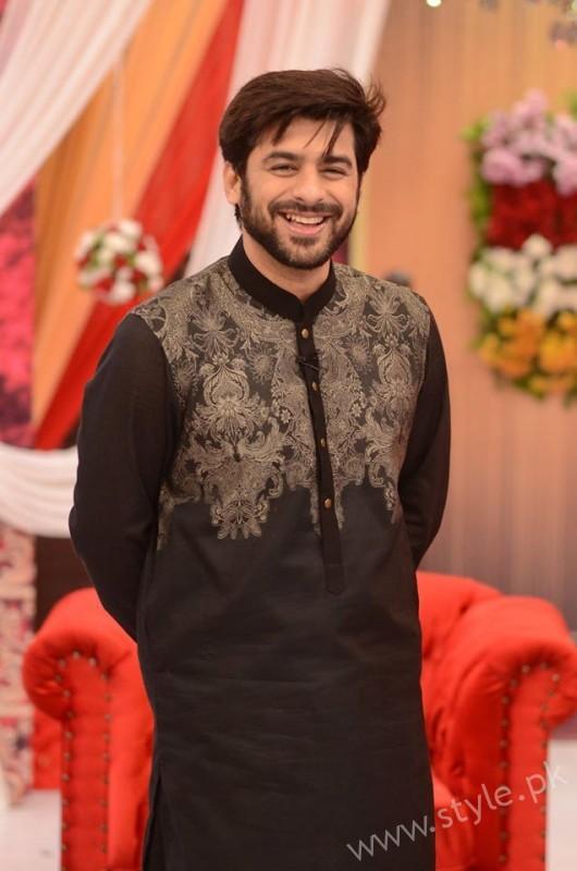Kon Bane Gi Humayun Asraf Ki Dulhan Special Show in Good Morning Pakistan (3)